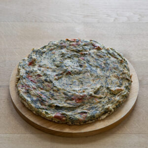 Quiche spinazie tomaat